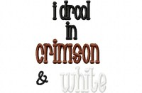 Drool CRIMSON WHITE