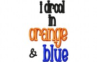 Drool ORANGE BLUE
