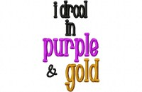 Drool PURPLE GOLD