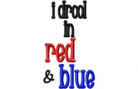 Drool RED BLUE