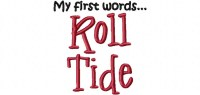FirstWords RollTide