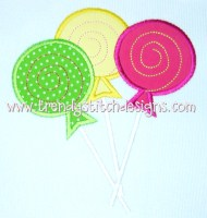 SweetShoppe Lollipop Trio